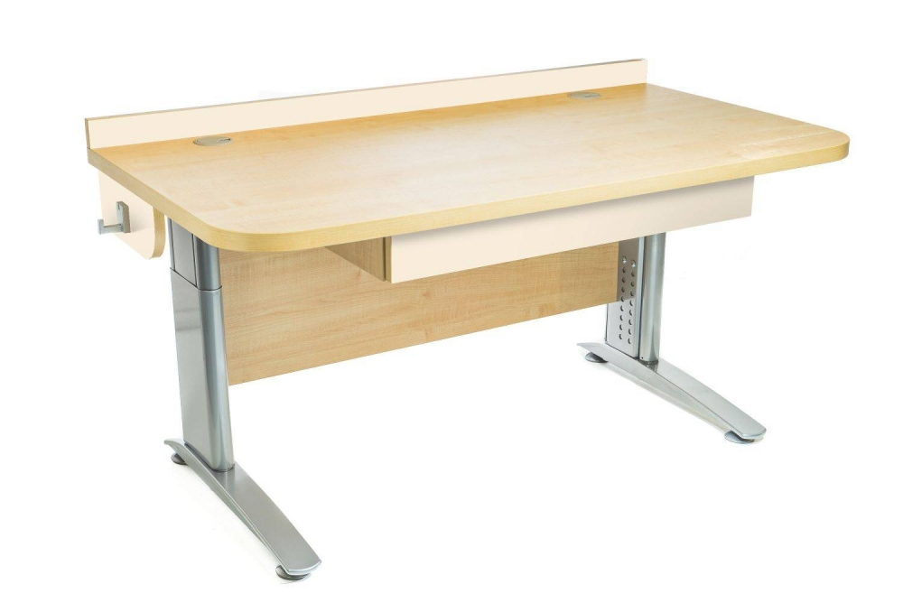 Stôl rastúci rovný │ javor prírodný / béžová (crema)