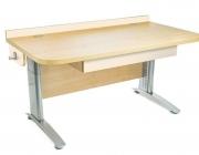 Stôl rastúci rovný │ javor prírodný / béžová ...