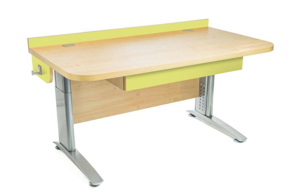 Stôl rastúci rovný │ javor prírodný / zelené jablko