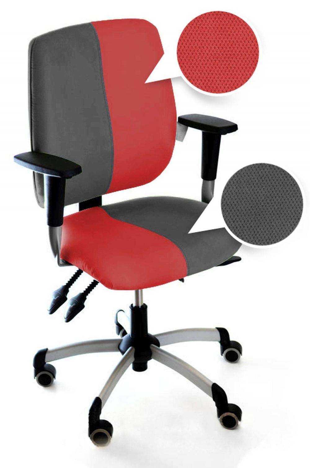 Detská rastúca stolička NO LIMIT KIDS │60 červená / 94 sivá /ch 94