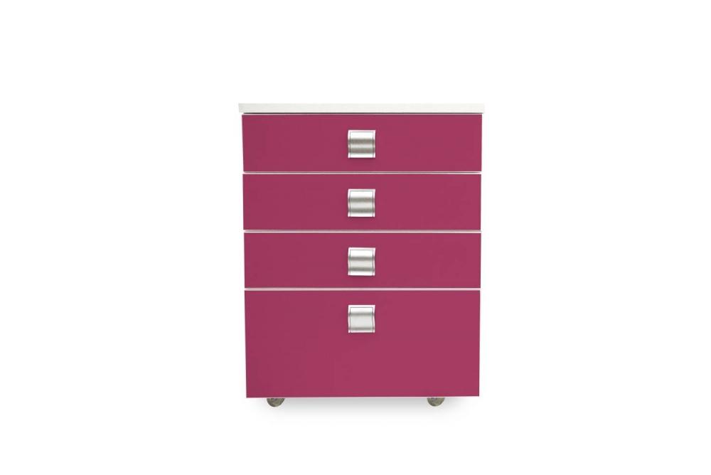 Kontajner IGIMAX │ biela štandard / ružová malina