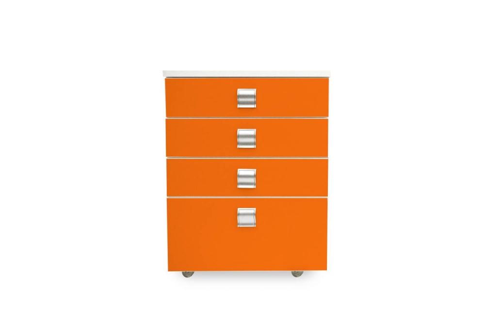 Kontajner IGIMAX │ biela štandard / oranžová