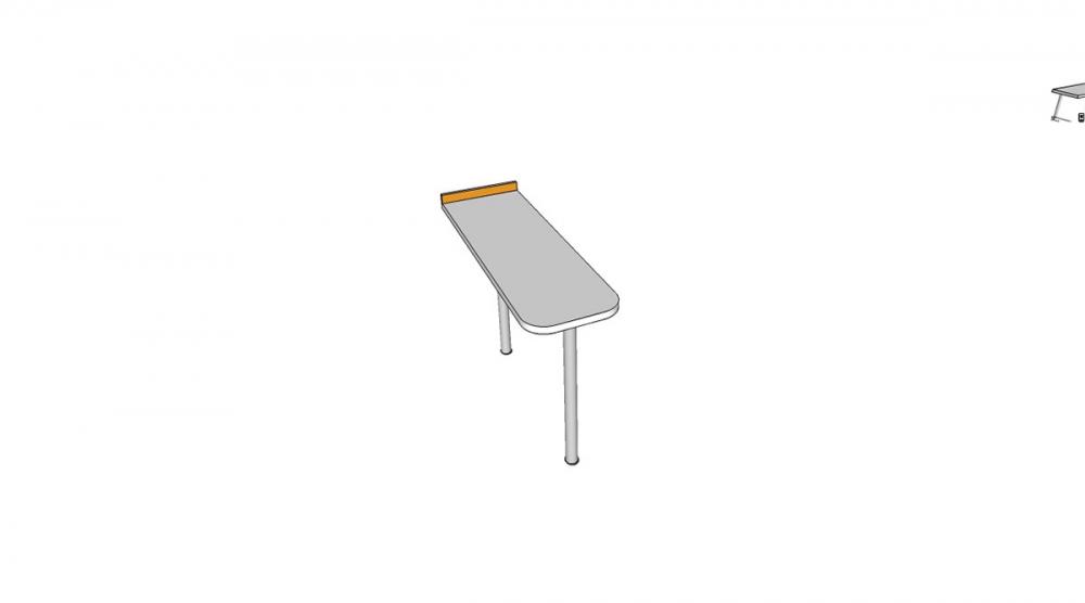 Prístavba H2C │ biela štandard / oranžová