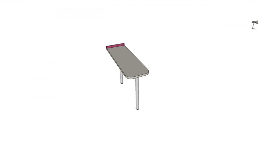 Prístavba H2C │ šedá perlička / ružová malina