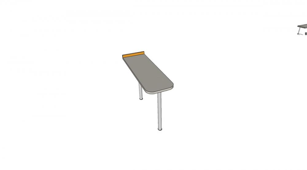 Prístavba H2C │ šedá perlička / oranžová