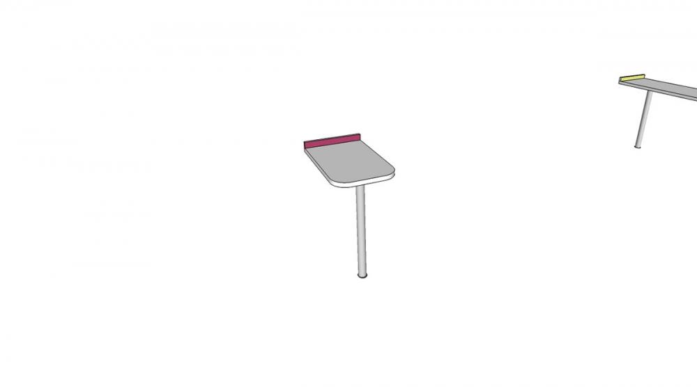 Prístavba H1C │ biela štandard / ružová malina