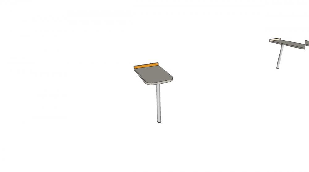 Prístavba H1C │ šedá perlička / oranžová