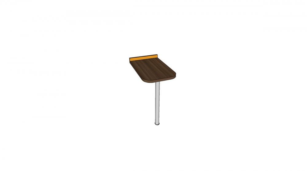 Prístavba H1C │ orech Aida tabakový / oranžová